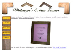 Whitmoyer's Custom Frames